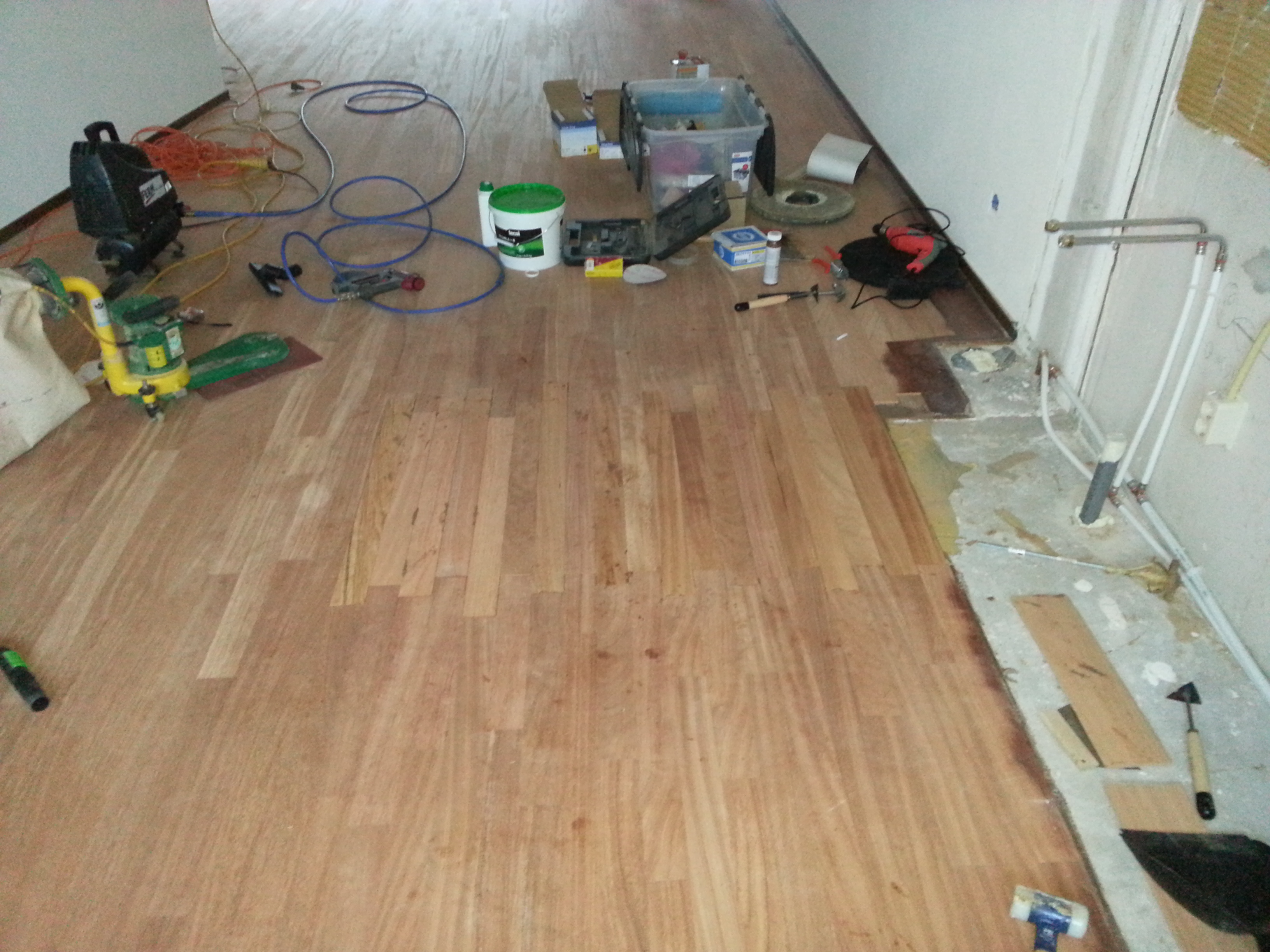 Eikenhouten Keuken Behandelen : Foto's – Mooievloeren.info, uw houten vloeren & parketspecialist